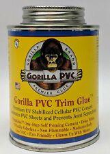 Gorilla Brand Premier Glue PVC Trim Glue Premium 8 fl. oz.