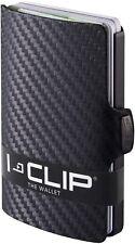 I-CLIP ® Portafoglio Carbon, Gunmetal-Black