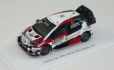 TOYOTA YARIS WRC  Winner Rally Sweden 2017  Latvala  SPARK 1/43