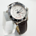 New 41mm bliger luminous GMT Function automatic Date mens watch 3013