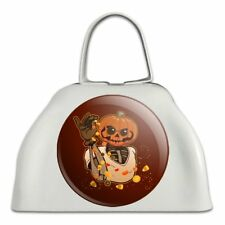 Jack O Lantern Halloween Candy Salt Bae Cowbell Cow Bell Instrument