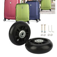 45 - 70mm Luggage Suitcase Wheels Repair Kit Axles Deluxe Replacement Wheels ZY