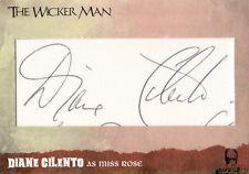 The Wicker Man Ultra Rare Diana Cilento Cut Auto Card WMDC1 Unstoppable Cards