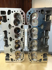 350-5.7 (2) CHEVY ALUMINUM CORVETTE LT1 CYLINDER HEADS HOLLOW BIG VALVE10207648