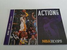 2013-14 NBA Hoops Action Shots 12 Kobe Bryant Los Angeles Lakers Basketball Card