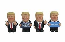 Dwk - Trumpets Sound Off - Set of Four (4) Mini Collectible Trump Figures Maga