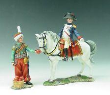 King and (&) Country NA026 - Mounted Napoleon & Mameluke Servant - Retired