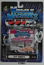 Muscle Machines – 57 Chevy perlmutt mit Flammen Neu/OVP