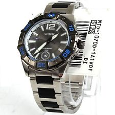 Casio MTD1070D-1A1 Mens Analog Stainless Steel Multi Hands 100m Diver Watch