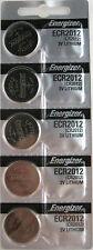Energizer ECR2012 (CR2012) 3V Lithium Coin Batteries (1 pack of 5)
