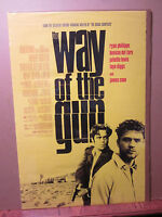 Vintage The Way of the Gun  movie poster 1137