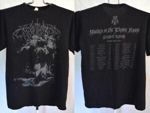 Wolves In The Throne Room 2011 Tour T Shirt Mens Medium RARE Agalloch Drudkh
