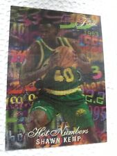 1995-96 Flair Hot Numbers Shawn Kemp #5/15