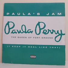 "33T Paula PERRY Vinyle RPM 12"" THE QUEEN OF FORT GREENE -LOOSE CANNON 697-120105"