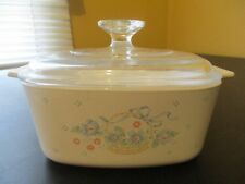 Nice Corning Ware Country Cornflower A-1 1/2-B  Casserole Dish with Lid A7C