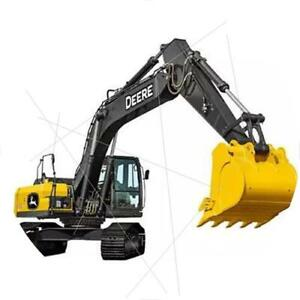John Deere E360 LC 1/50th Tracks Excavator Alloy Engineering Vehicle Model Toy