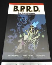 B.P.R.D. TPB THE BLACK GODDESS DARK HORSE COMICS HELLBOY MIKE MIGNOLA