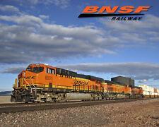 BNSF Pica Train Sturdy Metal Sign Logo Photo