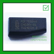 1x KEY TRANSPONDER ID45 PCF7935AS TP16 PEUGEOT PRECODED CHIP LEXIA