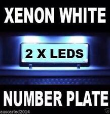 Toyota Corolla Number Plate White SMD LED Kit License Light Bulbs