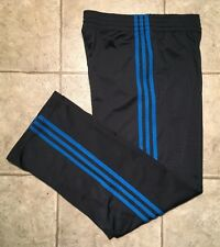 ADIDAS * Mens GRAY / BLUE Athletic / Work-out Pants * Size M