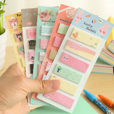 Mini 120 Pages Stick Cute Cartoon Sticky Notes Tab Post It Memo Index Note Flags
