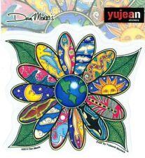 Dan Morris Earth Bloom Sticker Decal Flower Daisy Dolphin Bird Sun FAST SHIP