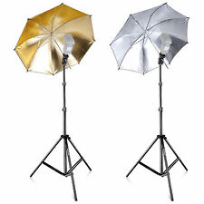 Silver Photo Studio Umbrellas 8mm Shaft Diameter