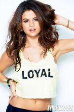 Selena Gomez Music Star Fabric Art Cloth Poster 36nch x 24inch Decor 71