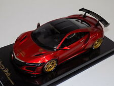 1/18 GT Spirit Honda Acura NSX Liberty walk LB Performance  in Red Carbon Base