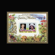 St Vincent Union Is, Sc #212, IMP, MNH,1985,S/S, Queen Mother, Royalty, IIDAR6