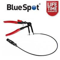 BlueSpot Flexible Long Reach Locking Hose Clip Clamp Pliers Removal Remover
