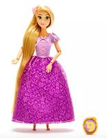 NEW Disney Store Princess Rapunzel Classic Doll & Pendant NIB Tangled