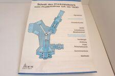 Wandkarte Lehrtafel Schnitt des Druckminderers vom Preßluftatmers DA 58/1600