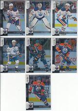 17/18 OPC Edmonton Oilers Benoit Pouliot Black Rainbow card #263 Ltd #/100