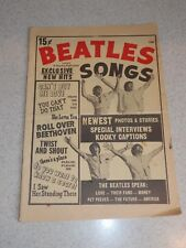 THE BEATLES SONGS VINTAGE PUBLICATION CHARLTON 16 PAGES 15 CENT EDITION