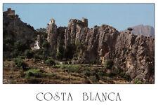 Costa Blanca, Alicante, Spain: Castell De Guadalest Rare Picture Postcard