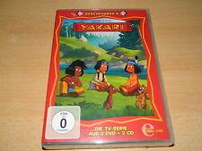 Yakari - Geschenkbox 4 ( 2 CDs & 2 DVDs ) - Die TV Serie - 12 Folgen