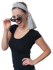 Orl Kostüm Zubehör 50er Jahre Brille Haarspange Kette Handschuhe