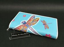 Women's Wallet Dragonfly Faux Leather Phone ID Credit Card Cash Coin Purse