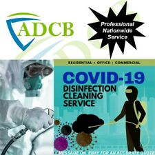 Professional Disinfecting Anti-Viral Cleaning Service For Home Commercial Car