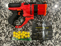 NERF Rival Roundhouse XX-1500 Red Blaster - Tested - Free Shipping