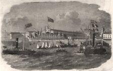 Réception de la KARS commandants, col Lake & le Capt Thompson à Hull, imprimer, 1856