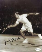 Jack Kramer Tennis Legend Champ HOF Rare Signed Autograph Photo JSA