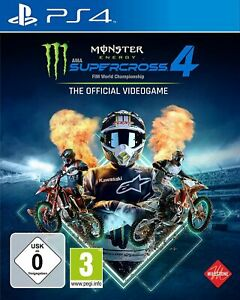 Monster Energy Supercross - The Official Videogame [Playstation 4] NEU & OVP