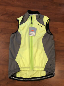 Specialized NEW reflective cycling vest yellow women's XS