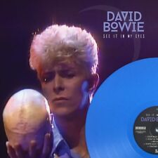 DAVID BOWIE  SEE IT IN MY EYES  on 180g BLUE VINYL  Cat No: ROXMB050-C
