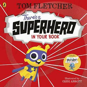 There's a Superhero in Your Book by Tom Fletcher (Paperback, 2021) 9780241357798