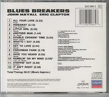 JOHN MAYALL+ ERIC CLAPTON -  Bluesbreakers -Original German CD-FREE UK SHIPPING!