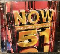 Various Artists : Now Thats What I Call Music! 51 2 CD FREE UK Postage